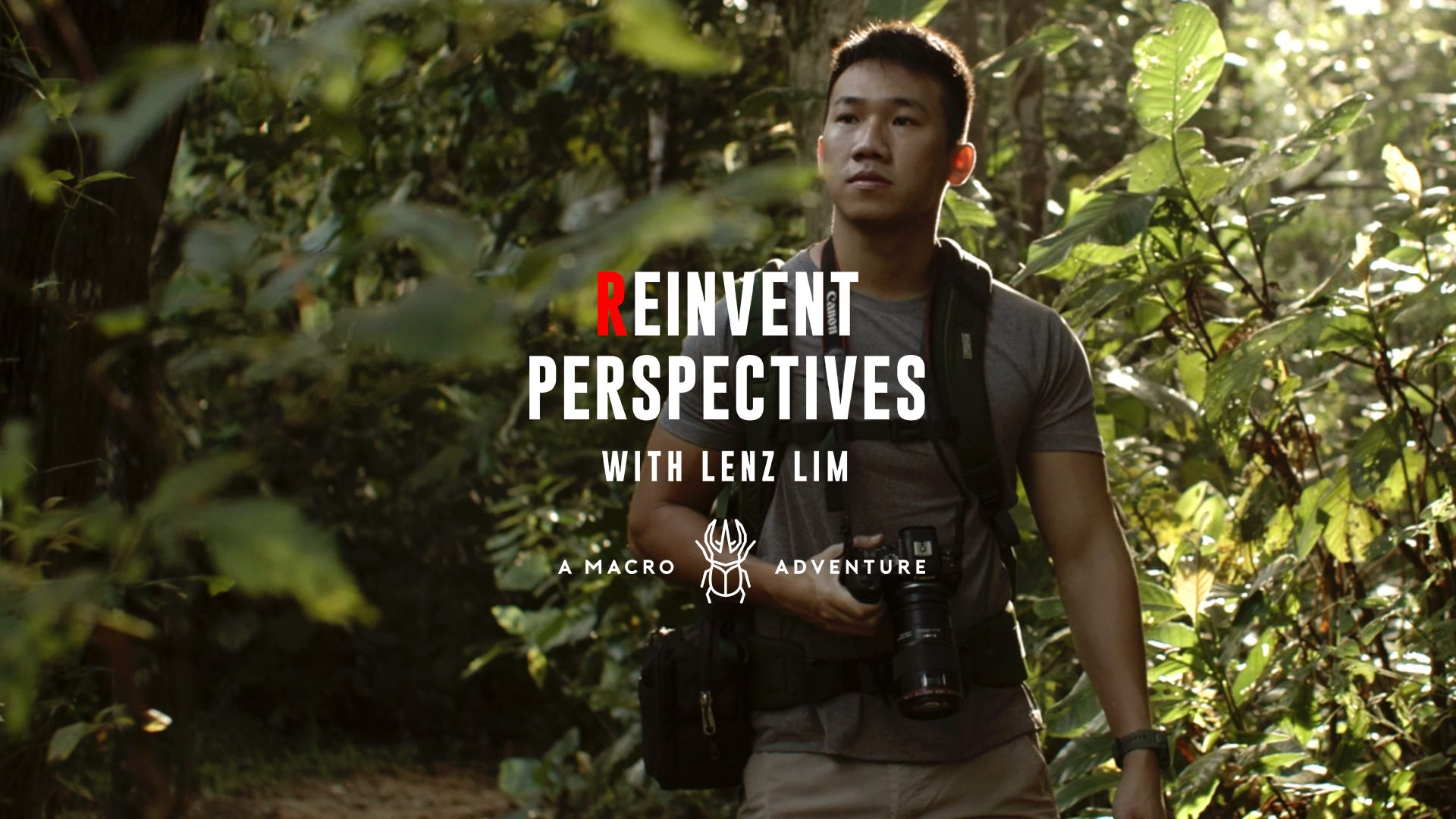Macro Photographer Lenz Lim in Reinvent Perspectives