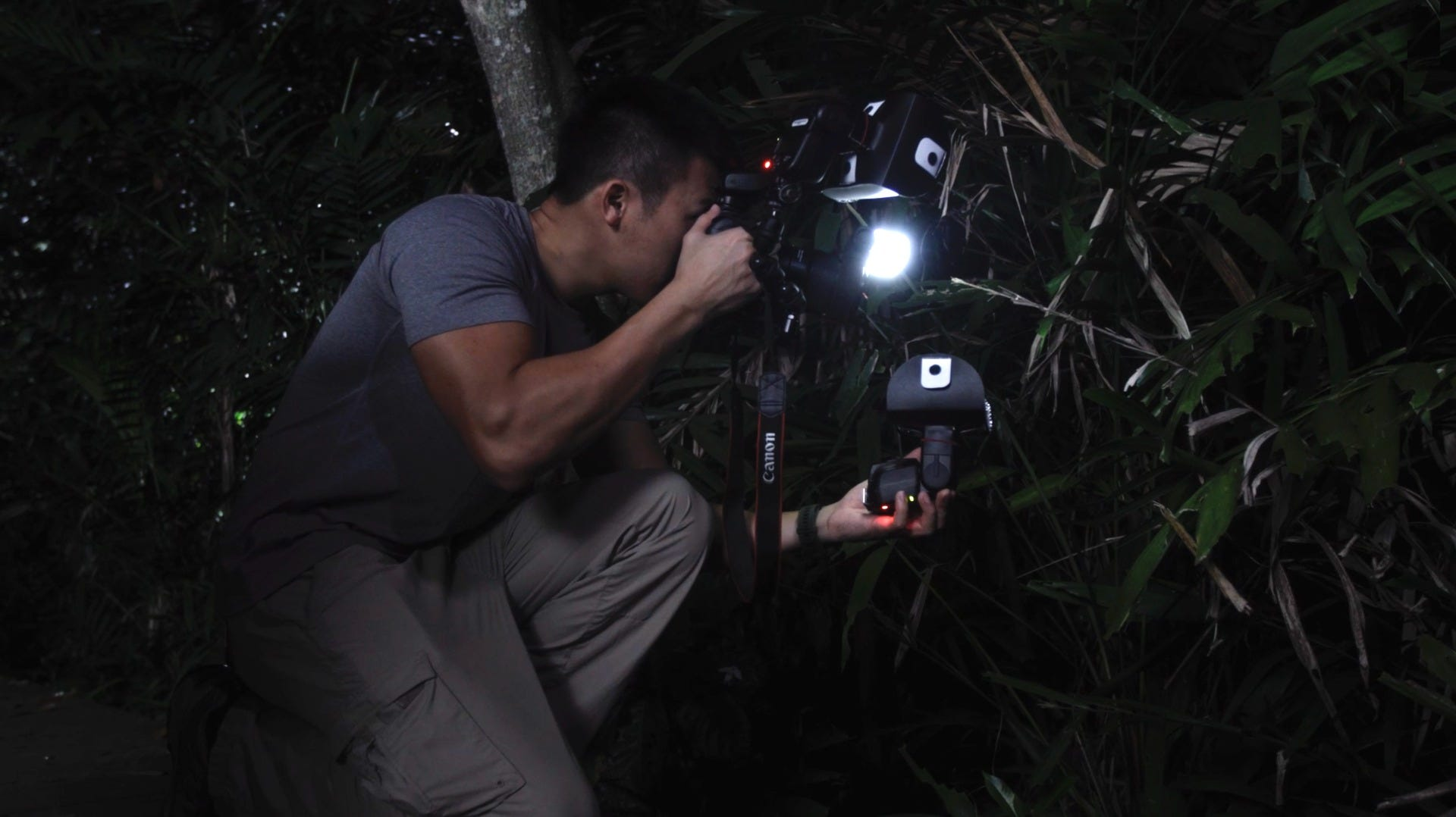 Nighttime photography with Lenz Lim