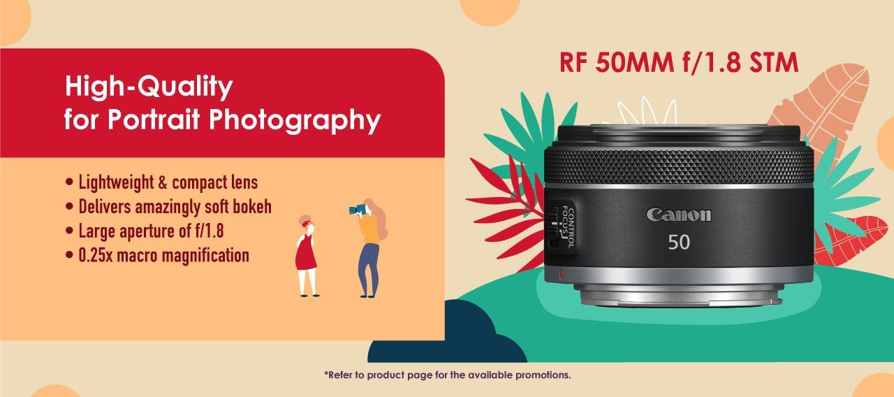 RF50mm F/1.8 STM
