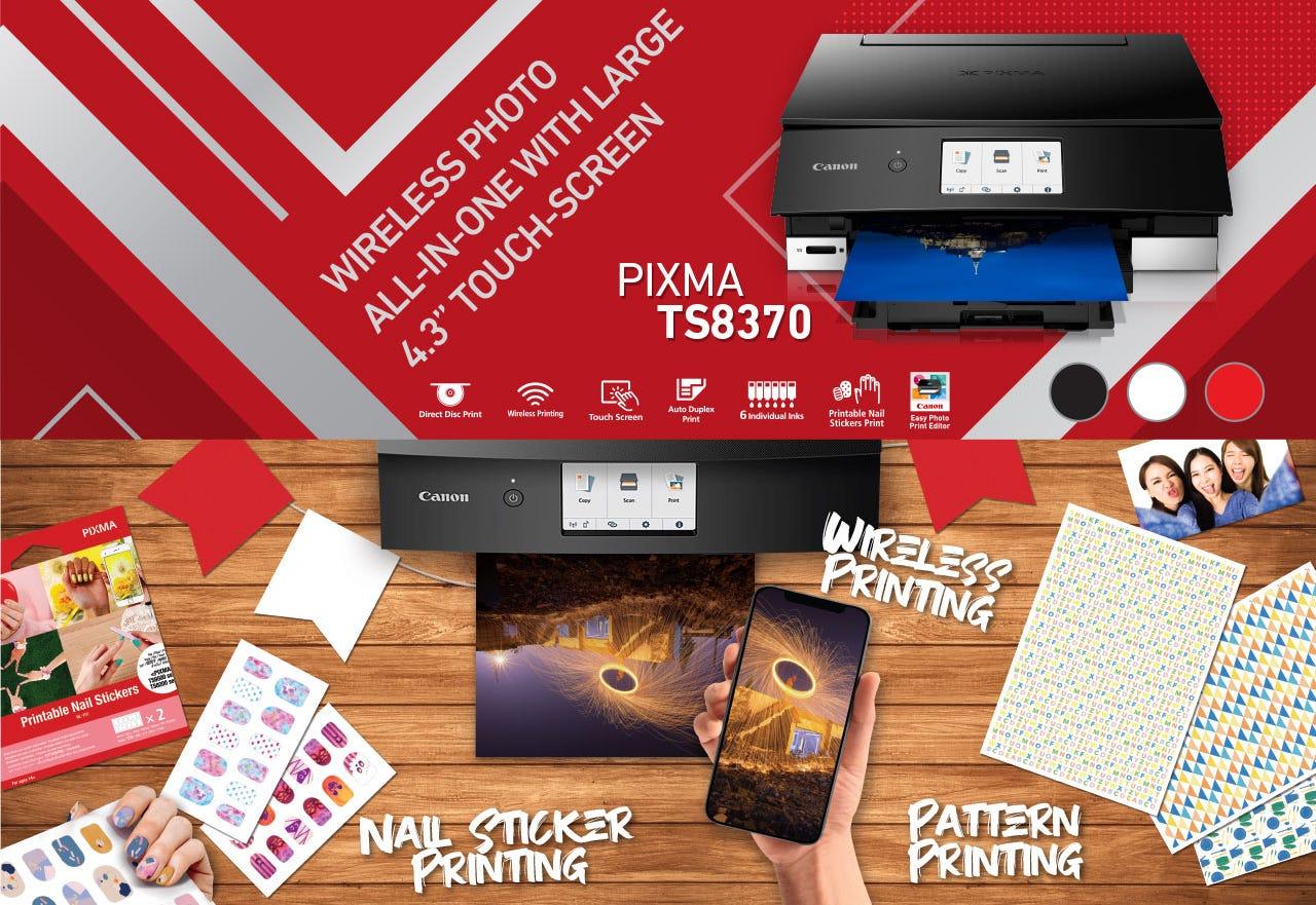 Wireless Photo All-In-One - PIXMA TS8370